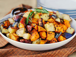 roasted vegetables feature image