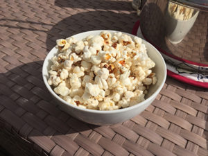 Popcorn solar cooking feature image