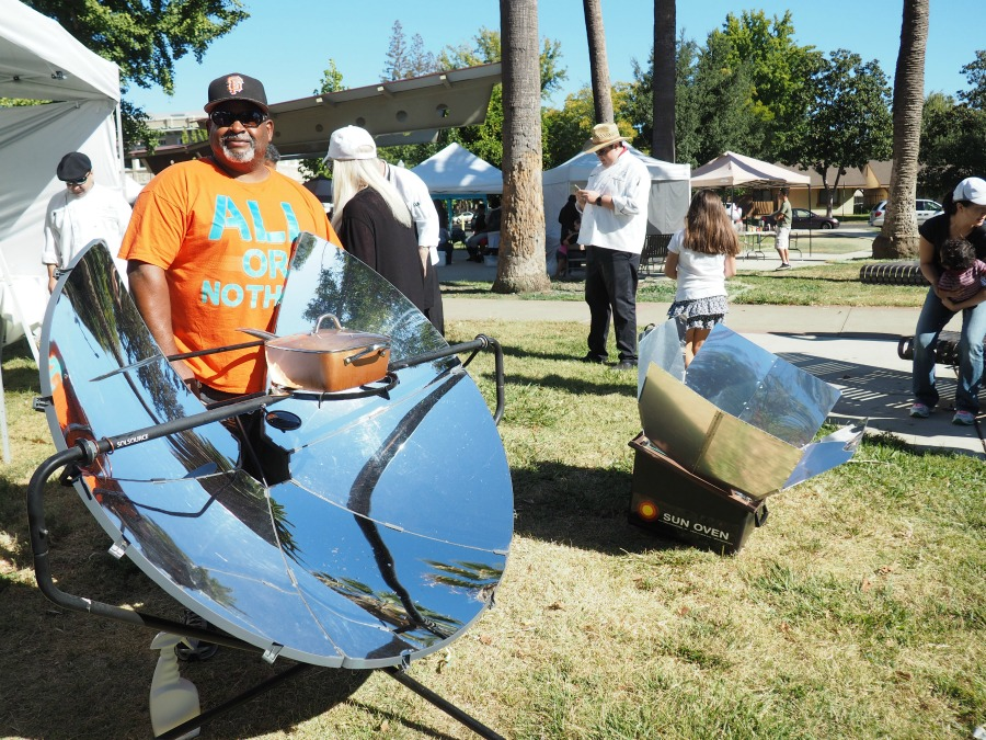 Solar Cooking at Farm to fork