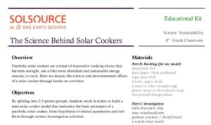 SolSource Lesson Plan Image